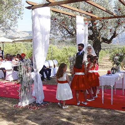 Casament rústic a Els Olivers a Horta de Sant Joan Parc Natural Els Ports decoració MASBA Terra Alta