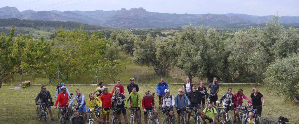 estades per grups a casa de colònies Els Olivers ciclistes Via Verda club excursionista